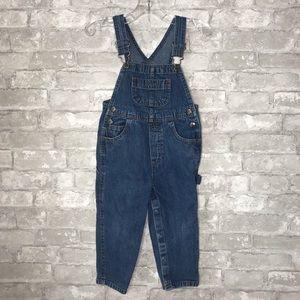 Arizona Jean Co toddler boy jean denim overalls